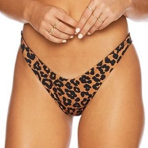 BEACH RIOT Leopard Print Island Bottoms
